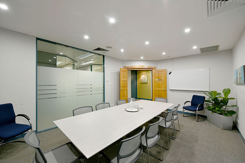 Our Boardroom Comfortably Seats 10-15 People
