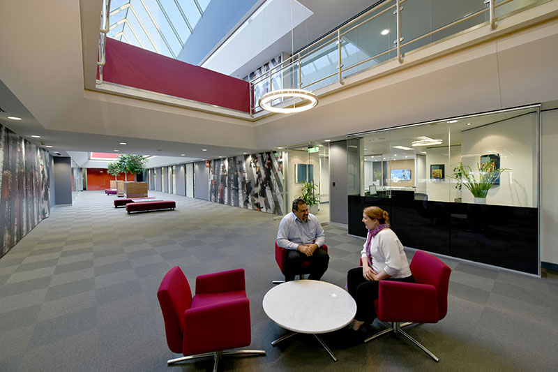 Our Atrium Is Also Ideal For Informal Meetings